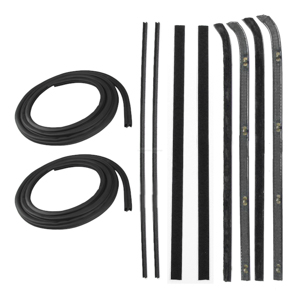 Precision Parts Set of 8 Door Molding and Beltlines Front DK 2110 83 VX