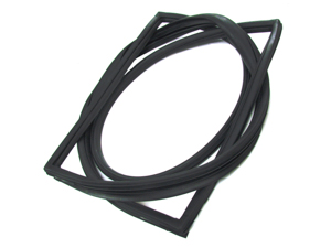 NEW Windshield Weatherstrip Seal W//Groove FOR LISTED MERCEDES 200 /& 300 SERIES